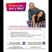 Logo de l'émission Buenos Días, Javi y Mar!