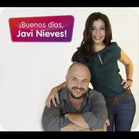 Logo de l'animateur con Javi Nieves y Mar Amate