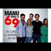 Logo de l'émission Manu dans le 6/9