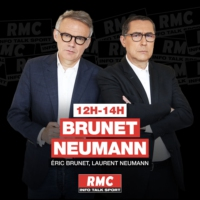 Logo of the podcast Brunet & Neumann du 21 février : Service public audiovisuel, faut-il supprimer la redevance? - 13h/…