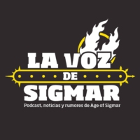 Logo of the podcast La Voz de Sigmar
