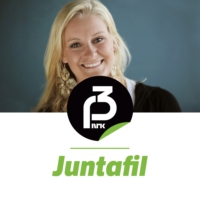Logo of the podcast Juntafil live fra Pride-paraden!