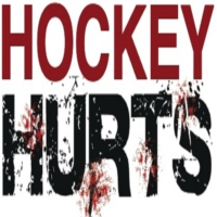Logo of the podcast Hockey Hurts Podcast