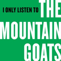 Logo of the podcast I Only Listen to the Mountain Goats