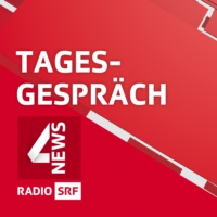 Logo of the podcast WEF-Gründer Klaus Schwab