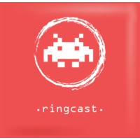 Logo of the podcast RingCast - Podcast di disinformazione videoludica