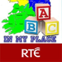 Logo du podcast RTE Jr - In My Place Podcast