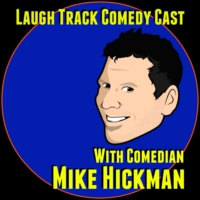 Logo of the podcast Laugh track Comedy Cast 9 - Bob Smiley
