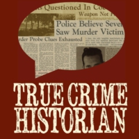 Logo of the podcast Talking True Crime with Bob Halloran, author of 'White Devil'