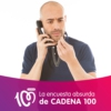 Logo of the podcast La encuesta absurda de CADENA 100