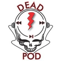 Logo of the podcast The Dead Show on KOPN 89.5 FM