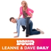 Logo of the podcast Leanne & Dave Daily