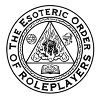 "Logo of the podcast [Esoteric Order Duets] ""Satan Is Real"" (East of Eden)"