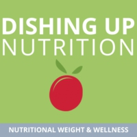 Logo of the podcast Dishing Up Nutrition