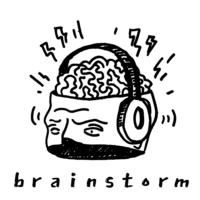 Logo of the podcast Brainstorm