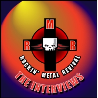 Logo of the podcast The Interviews - Rockin' Metal Revival