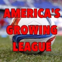 Logo of the podcast America's Growing League