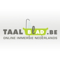 Logo of the podcast Radio Taalblad op de koffie bij Merlina