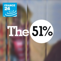 Logo of the podcast #THE 51%
