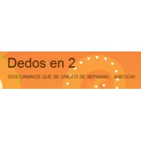 Logo of the podcast Dedos en 2