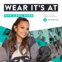 Logo of the podcast Wear It's At with Alesha Dixon