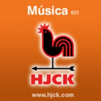 Logo of the podcast Hablemos de Música, presenta Miguel Camacho