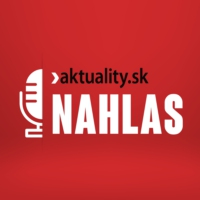 Logo of the podcast NAHLAS  aktuality.sk