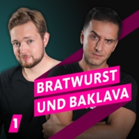 Logo of the podcast 1LIVE Bratwurst und Baklava