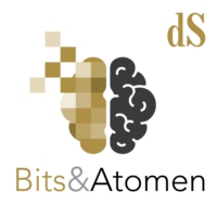 Logo of the podcast Bits & Atomen