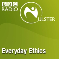 Logo of the podcast Nature versus Nurture, the Vatican's Dirty War files and Belfast's Victorian Graverobbers.