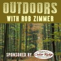 Logo of the podcast Outdoors with Rob Zimmer 02/17/18