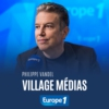Logo of the podcast Village médias - Philippe Vandel
