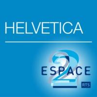 Logo du podcast Espace 2 - Helvetica
