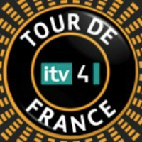 Logo du podcast ITV TDF Stage 15 2014