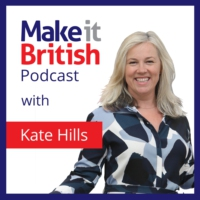 Logo of the podcast Make it British Podcast: UK manufacturing and British Brands in the Spotlight