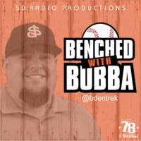 Logo of the podcast Benched with Bubba