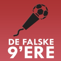 Logo of the podcast De Falske 9'ere - En dansk Premier League podcast