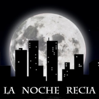 Logo of the podcast La Noche Recia