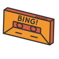 Logo of the podcast BING
