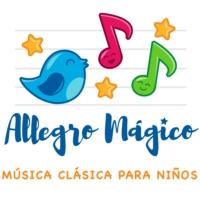 Logo du podcast Allegro Mágico, Música clásica para niños