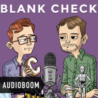 Logo of the podcast Blank Check with Griffin & David