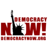 Logo of the podcast Democracy Now! 2017-09-15 viernes
