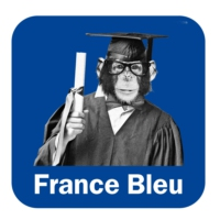 Logo of the podcast France Bleu - La Science en Question