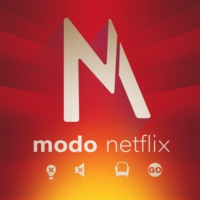 Logo of the podcast Modo Netflix