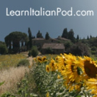 Logo of the podcast LearnItalianPod.com - Learn to Speak Italian with Podcasts