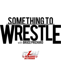 Logo of the podcast Something to Wrestle with Bruce Prichard