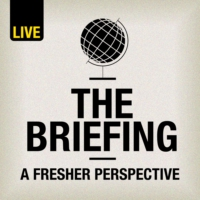 Logo of the podcast Monocle 24: The Briefing
