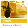 Logo of the podcast SWR1 Radioreport Recht