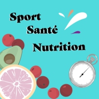 Logo of the podcast Sport Santé Nutrition Podcast