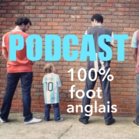 Logo of the podcast 100% foot anglais